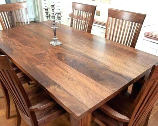 Decoration: Walnut Dining Room Chairs Table And Antique (View 3 of 20)