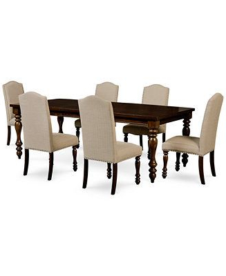 Delfina 7 Piece Dining Sets Intended For Most Recent Kelso 7 Pc (View 8 of 20)