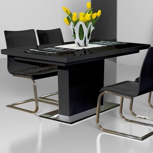 Delfina Dining Tables Regarding Popular Galestown Extendable Dining Table & Reviews (View 8 of 20)
