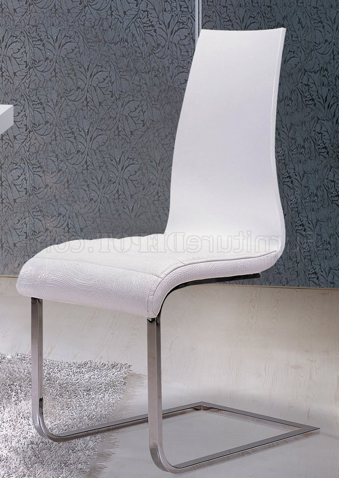 Delfina Side Chairs Intended For 2018 Va9830 Delfina Dining Table In Whiteat Home Usa W/options (View 2 of 20)