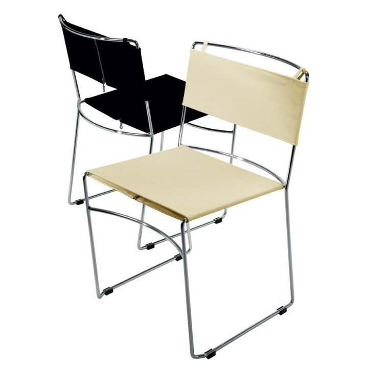 Delfina Side Chairs Regarding Well Liked Delfina – Sedia Impilabile – Rexite – Design – Italy (View 3 of 20)