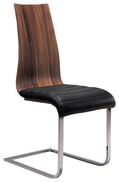 Delfina Veneer Dining Chair, Set Of 2 – Contemporary – Dining Chairs Inside Well Liked Delfina Dining Tables (View 20 of 20)