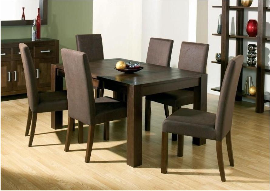 Delightful Top 20 Dark Brown Wood Dining Tables Dining Room Ideas Regarding Most Recently Released Dark Brown Wood Dining Tables (View 2 of 20)