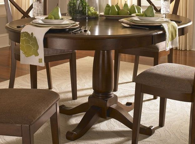 "Desoto 60"" Burnished Sienna Extendable Oval Dining Table From A Within Preferred Outdoor Sienna Dining Tables (Gallery 20 of 20)"