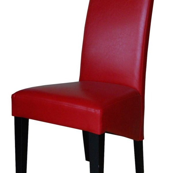Devlin Lounges Inside Favorite Red Leather Dining Chairs (View 20 of 20)