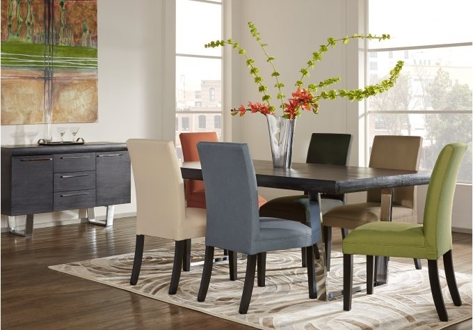 Dining: Alluring Cindy Crawford Dining Room Set For Your Dining Room For Famous Crawford Side Chairs (View 10 of 20)