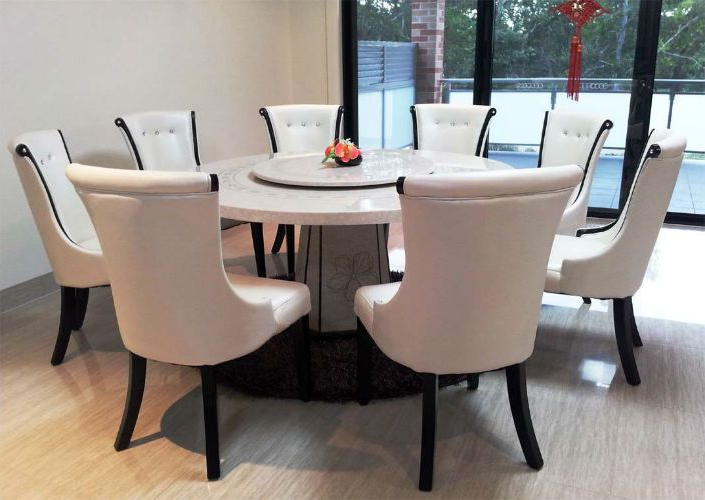 Dining Area With Regard To Preferred White Circular Dining Tables (Gallery 1 of 20)