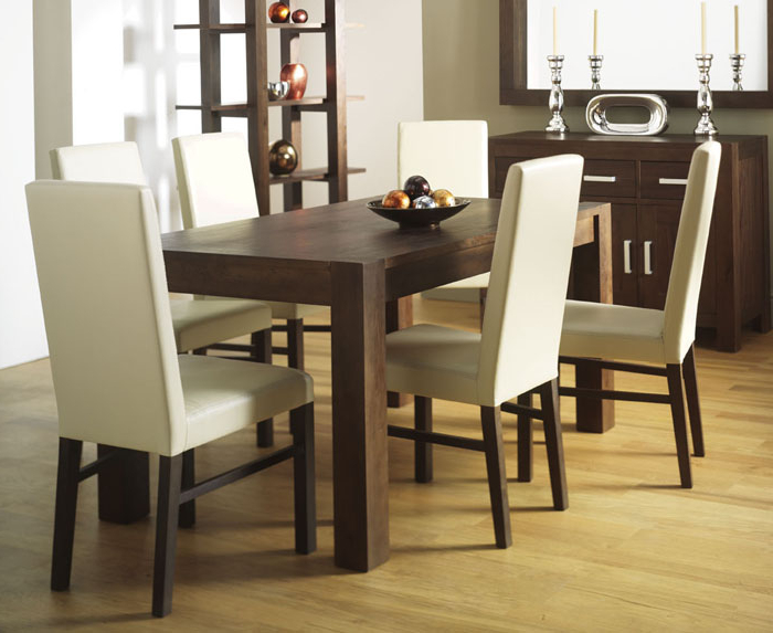 Dining Chairs Design Ideas Inside Recent Ivory Leather Dining Chairs (View 7 of 20)
