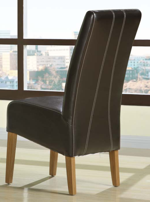 Dining Chairs Design Ideas Pertaining To Preferred Dark Brown Leather Dining Chairs (Gallery 1 of 20)