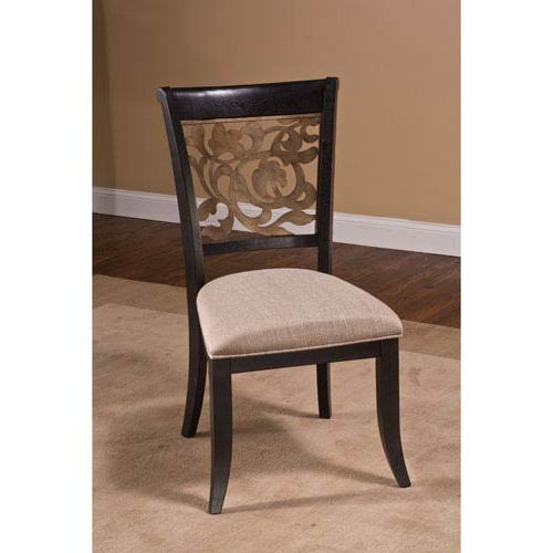 Dining Chairs Within Favorite Hillsdale Furniture Bennington Black Dining Chair, Set Of 2  (View 9 of 20)