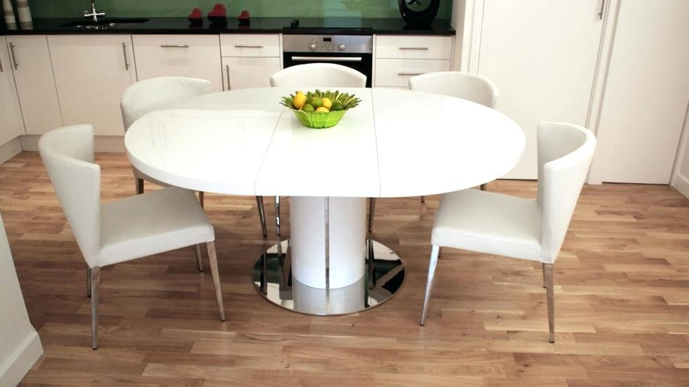 Dining Extending Tables And Chairs In Recent Expandable Kitchen Table Large Size Of Minimalist Dining Extendable (View 19 of 20)