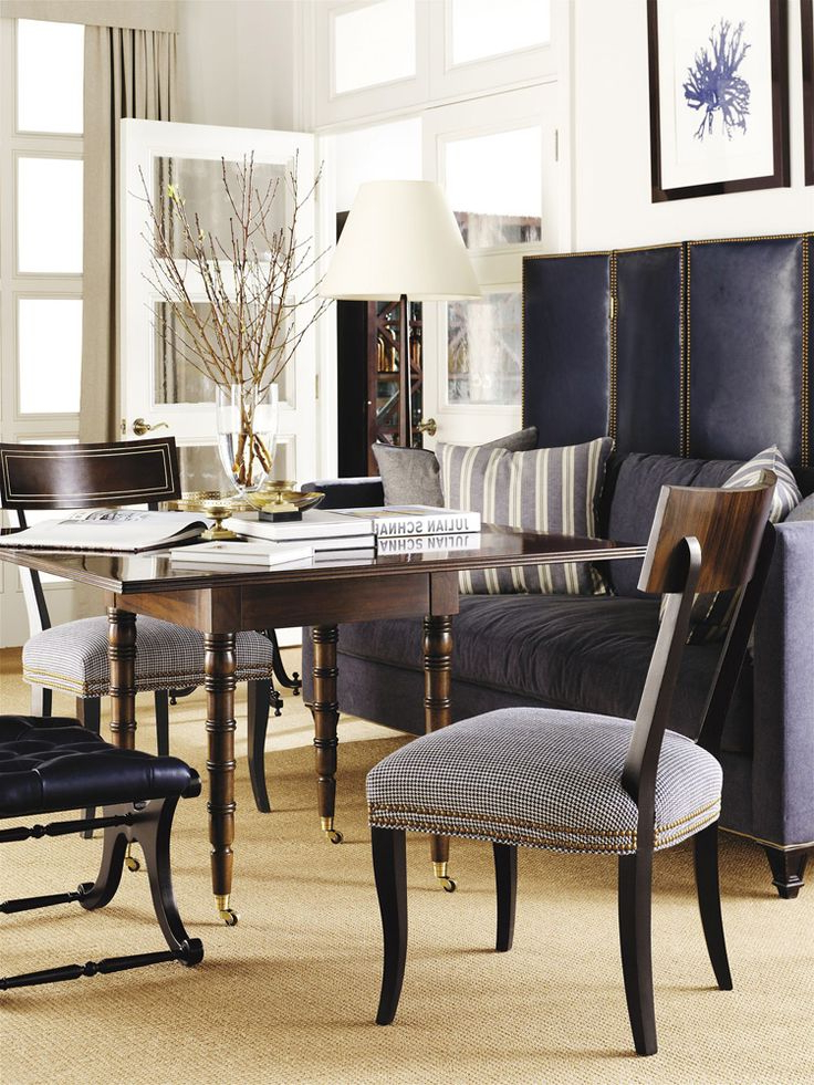 Dining Regarding Weaver Dark 7 Piece Dining Sets With Alexa White Side Chairs (View 2 of 20)