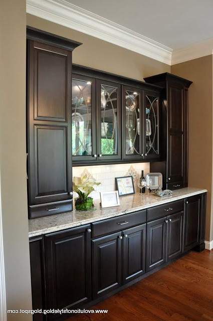 Dining Room Cabinets In Best And Newest Amazing Built In Buffet – This Is What I See As The Butler's Pantry (View 14 of 20)