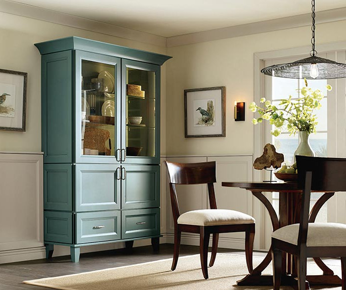 Dining Room Cabinets In Recent Dining Room Storage Cabinet – Diamond Cabinetry (Gallery 2 of 20)