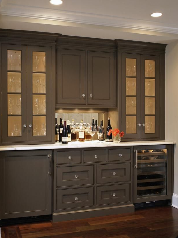 Dining Room Cabinets With Famous Best Kitchen Countertop Pictures: Color & Material Ideas (View 12 of 20)