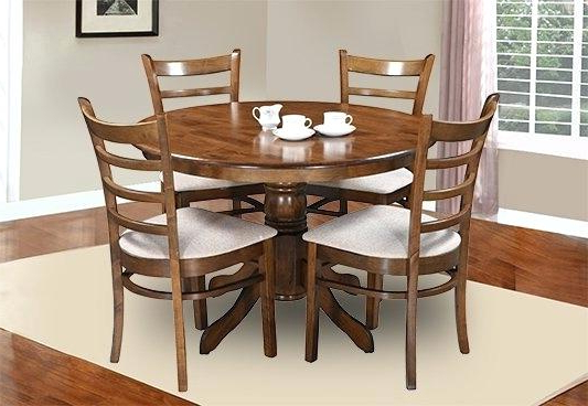 Dining Room Chairs Only Within 2017 Dining Table Chairs Vita 4 Dining Set With Cushioned Chairs Dining (View 19 of 20)