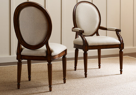 Dining Room Chairs With Regard To Newest Dining Room Solid Wood Furniturekincaid Furniture (Gallery 13 of 20)