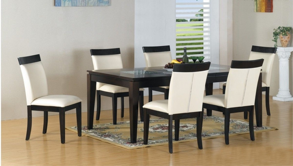 Dining Room Contemporary Glass Dining Table Set Small Modern Dining Regarding Famous Contemporary Dining Room Tables And Chairs (View 11 of 20)