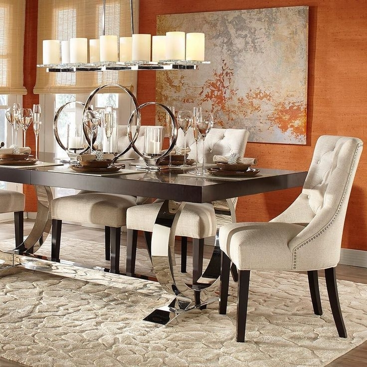 Dining Room, Diner Pertaining To Current Combs 5 Piece Dining Sets With Mindy Slipcovered Chairs (View 17 of 20)
