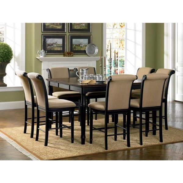 Dining Room, Dining Sets In Latest Craftsman 9 Piece Extension Dining Sets With Uph Side Chairs (View 7 of 20)
