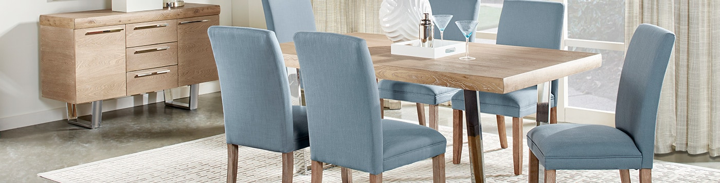 Dining Room Furniture: Formal & Modern Pieces And Sets With Latest Modern Dining Room Furniture (View 7 of 20)