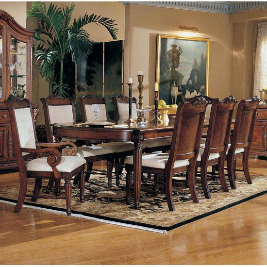 Dining Room Furniture Formal Regarding Well Liked Norwood 7 Piece Rectangular Extension Dining Sets With Bench & Uph Side Chairs (View 6 of 20)