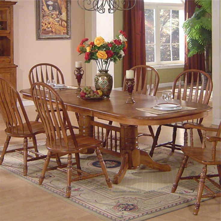 Dining Room Furniture Oak Mesmerizing Small Oak Dining Table Intended For Most Up To Date Light Oak Dining Tables And Chairs (View 6 of 20)