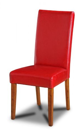 Dining Room Furniture With Regard To Red Leather Dining Chairs (View 5 of 20)