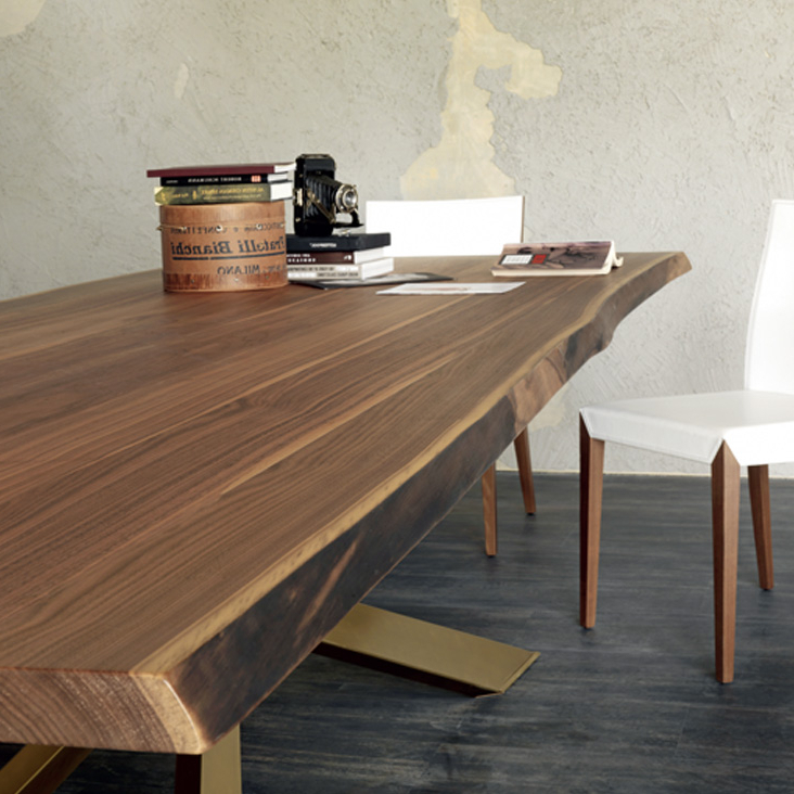 Dining Room Handcrafted Dining Room Tables Solid Wood Dining With Widely Used Solid Oak Dining Tables (View 7 of 20)