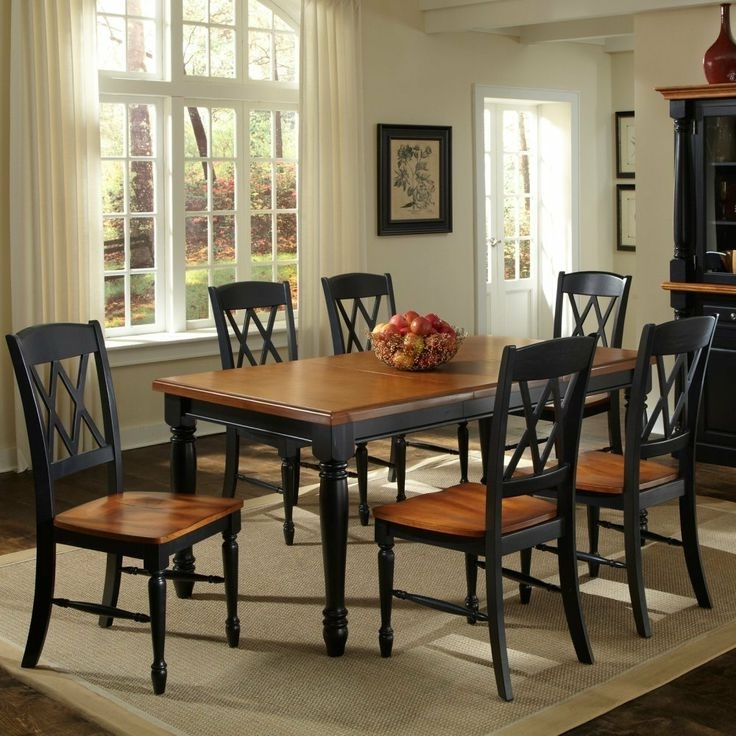 Dining Room Sets Throughout Most Up To Date Candice Ii 7 Piece Extension Rectangular Dining Sets With Slat Back Side Chairs (View 10 of 20)