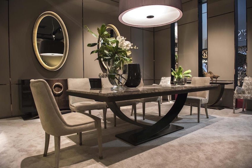 Dining Room Small Modern Kitchen Table And Chairs Modern Style For Latest Dining Room Tables (View 15 of 20)