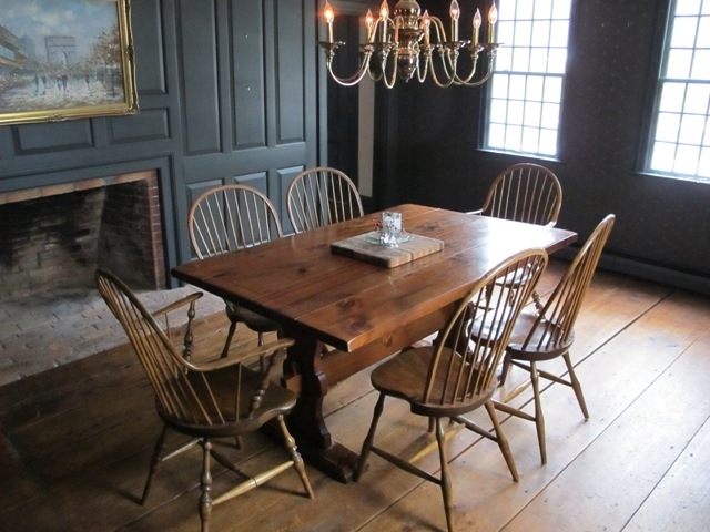 Dining Room Table ~ Confessions Of An Antique Home Regarding Fashionable Partridge Side Chairs (View 5 of 20)