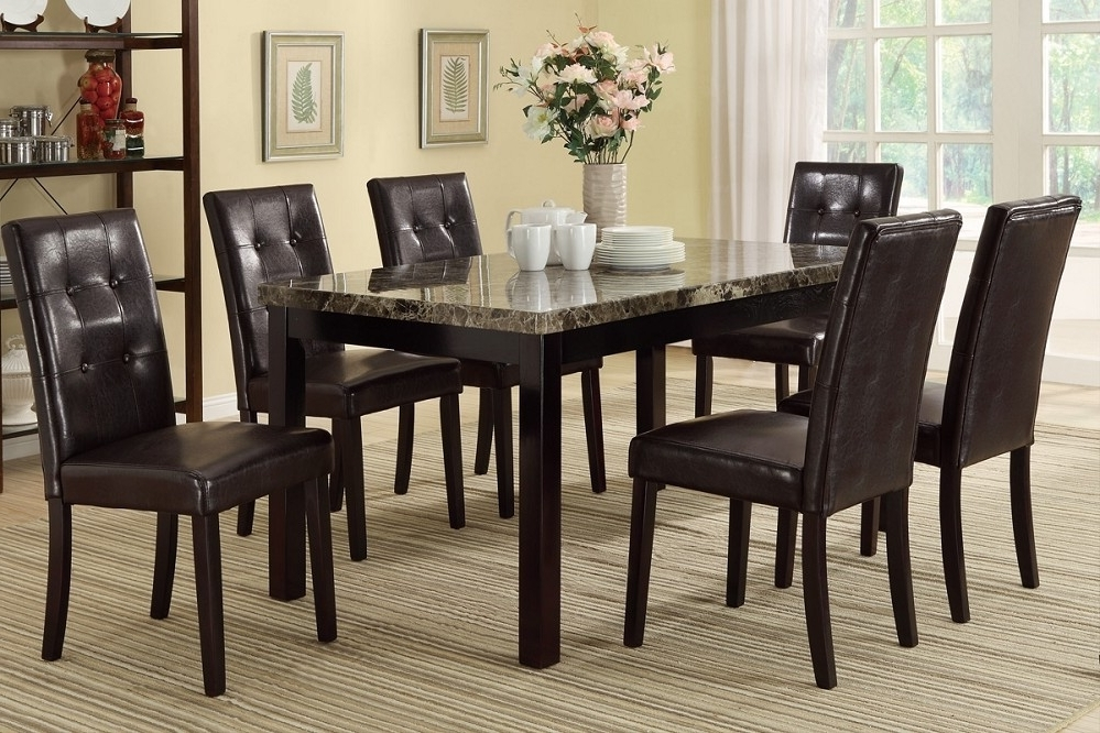 Dining Room Table With 6 Chairs – Dining Table Furniture Design In Fashionable 6 Chairs And Dining Tables (View 7 of 20)