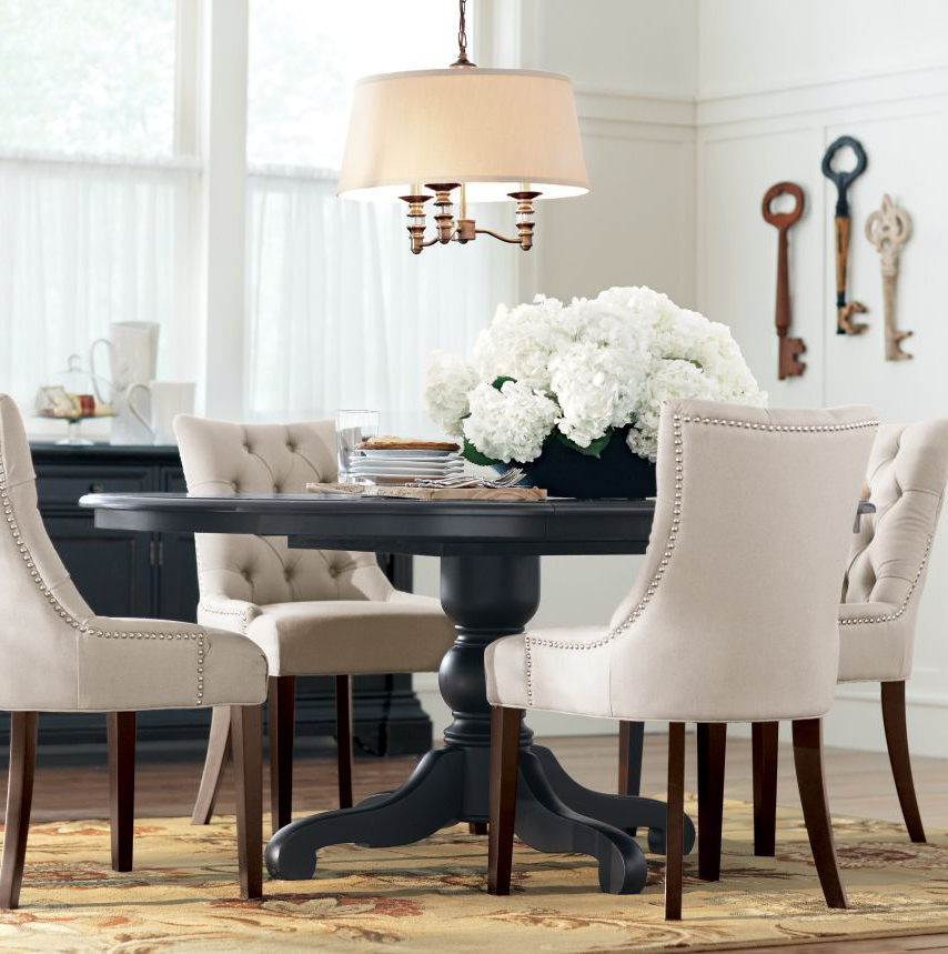 Dining Room Tables And Chairs With Most Recently Released 33+ Black And White Dining Room Ideas Make Wish To Go Monochrome (View 6 of 20)