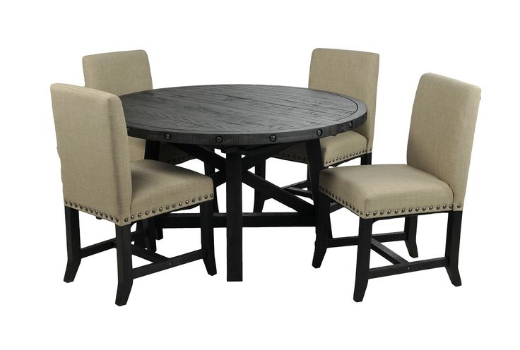 Dining Rooms, Dining Room Within Newest Jaxon 5 Piece Round Dining Sets With Upholstered Chairs (View 5 of 20)