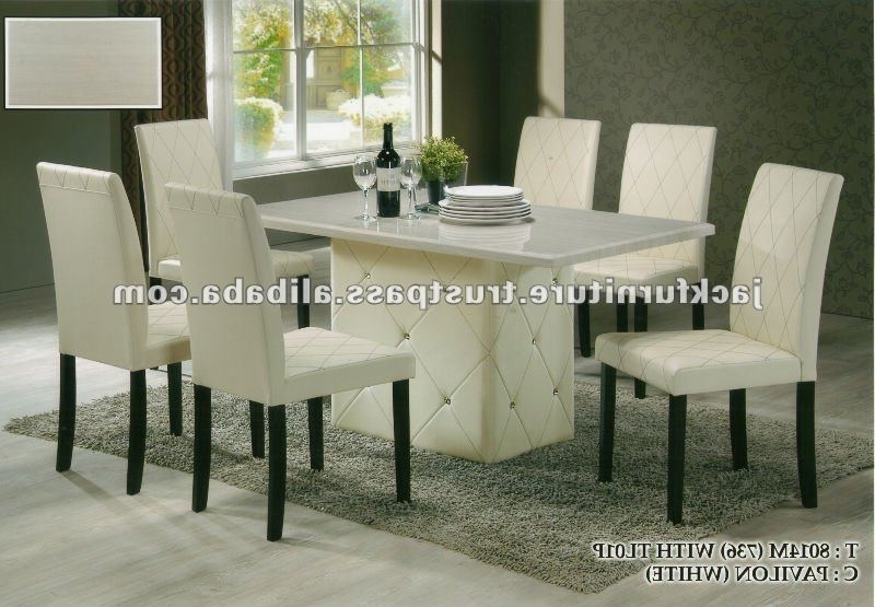 Dining Set,round Marble Top Diningtable,dining Room Sets – Buy Cheap In Most Current Cheap Dining Sets (View 7 of 20)