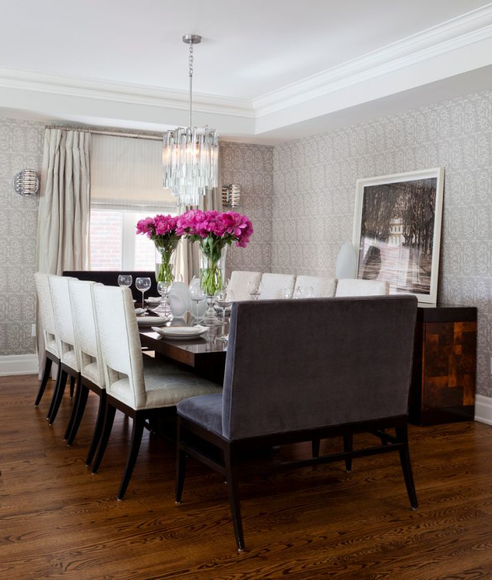 Dining Table And 10 Chairs With Regard To Favorite Choose 10 Seater Dining Table With Bench Better Comfort Of Whole (View 6 of 20)