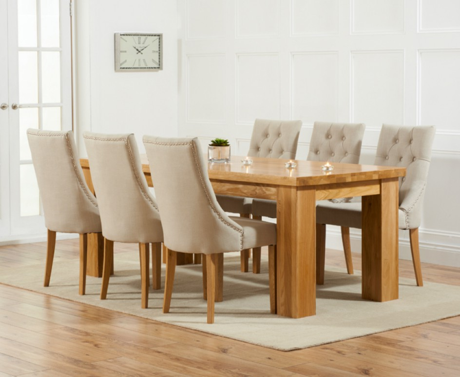 Dining Table And Fabric Chairs Sl Interior Design Ashley Furniture Pertaining To Preferred Dining Tables And Fabric Chairs (View 5 of 20)