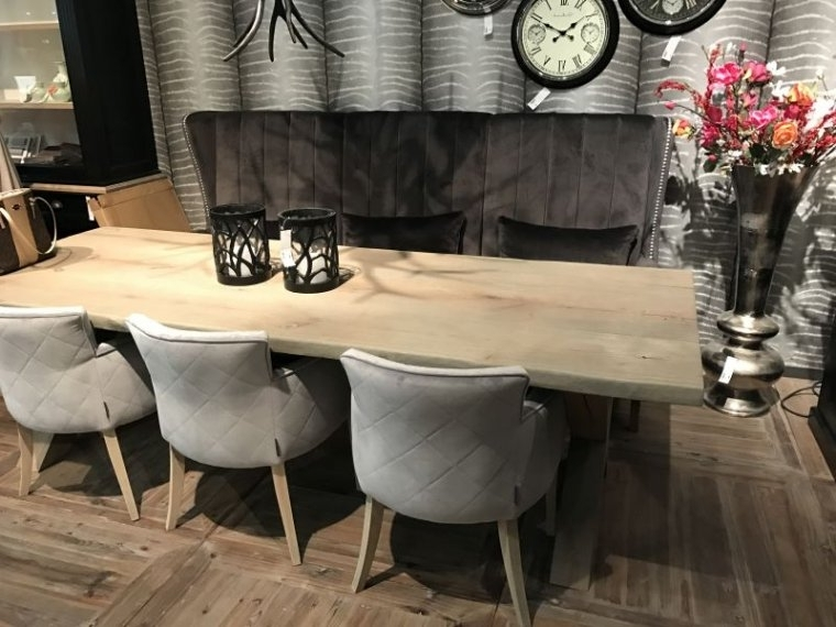 Dining Table Bench With Back – Who Designed This? Within 2018 Bench With Back For Dining Tables (View 6 of 20)