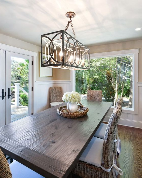 Dining Table Chandelier Selecting — Tina Marie Interior Design (Gallery 16 of 20)