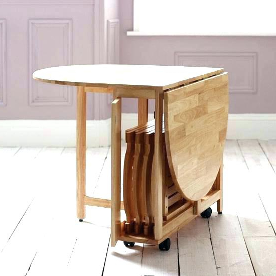 Dining Table Folding Sides – Talveaed Regarding Famous Oval Folding Dining Tables (View 3 of 20)