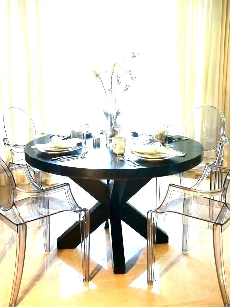 Dining Table For Cheap – Bcrr Throughout Trendy Round Acrylic Dining Tables (View 7 of 20)