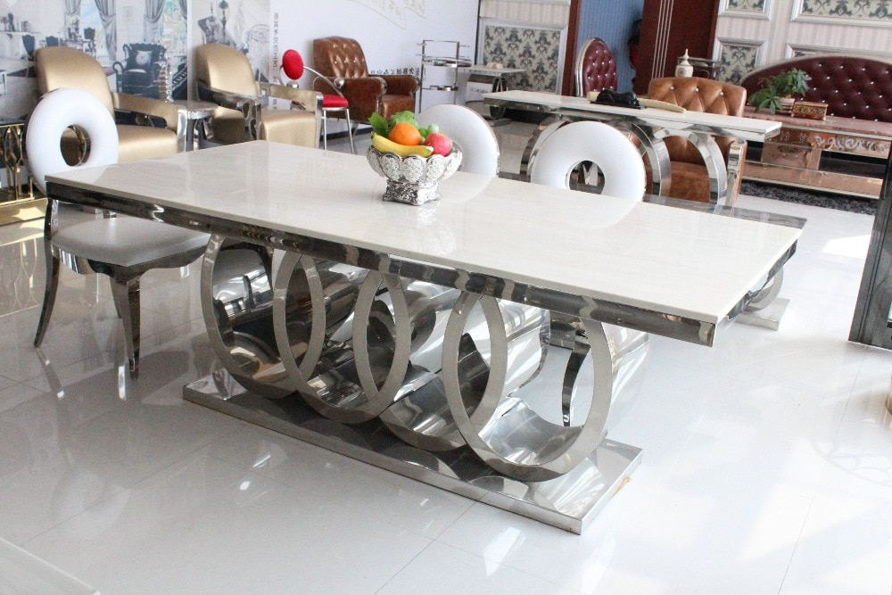Dining Table Marble And Chair Cheap Modern Dining Tables 8 Chairs In With Regard To Recent Dining Tables And 8 Chairs For Sale (View 3 of 20)