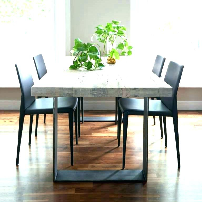 Dining Table Metal Legs Kitchen Tables Leg – Fondodepantalla With Regard To Most Current Dining Tables With Metal Legs Wood Top (View 15 of 20)