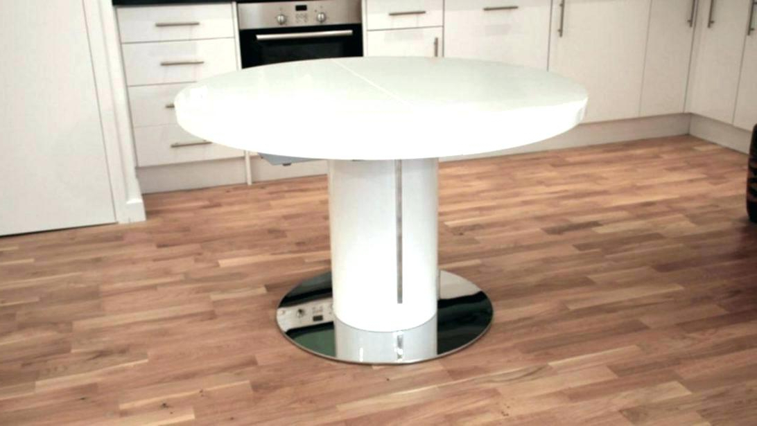 Dining Table Round Extendable Small Round Extending Dining Table With Regard To Most Up To Date White Round Extendable Dining Tables (Gallery 11 of 20)