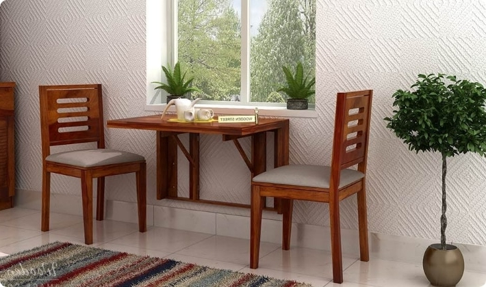 Dining Table Sets: Buy Wooden Dining Table Set Online @ Low Price In Widely Used Dining Table Sets For (View 17 of 20)