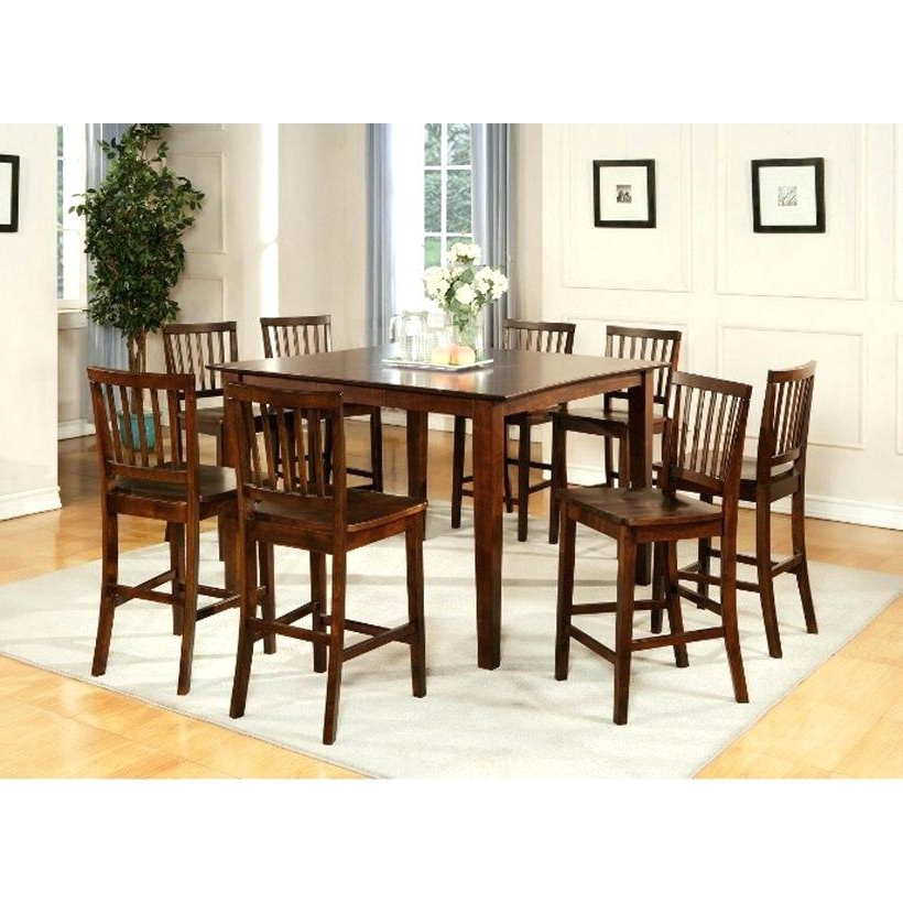 Dining Table Sets Ebay All Wood Dining Room Sets Piece Counter Throughout Newest Ebay Dining Suites (View 17 of 20)
