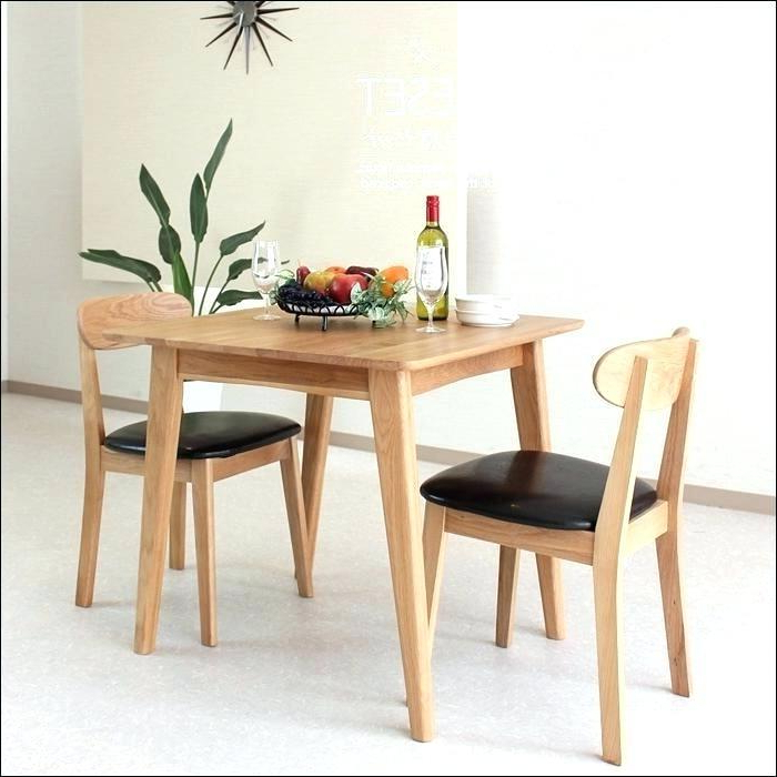 Dining Table Sets For 2 Intended For Most Recently Released (View 15 of 20)
