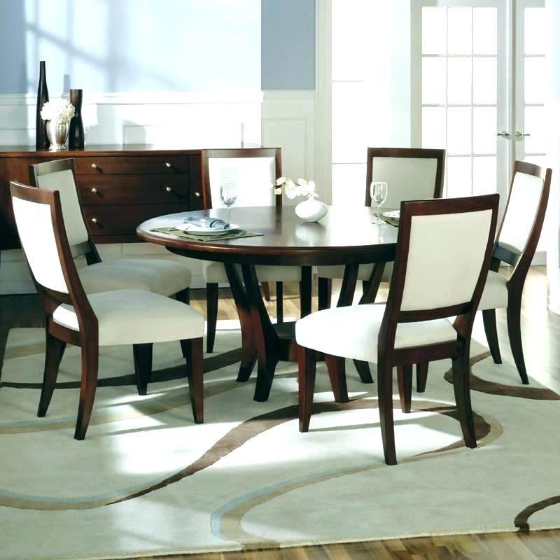 Dining Table Sets With 6 Chairs In Well Known Round Dining Sets For 6 – Mrmead (View 8 of 20)
