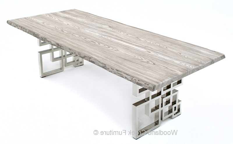 Featured Photo of Contemporary Base Dining Tables